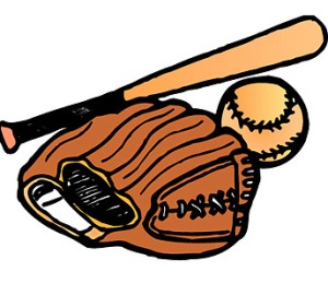 Glove Bat and Ball