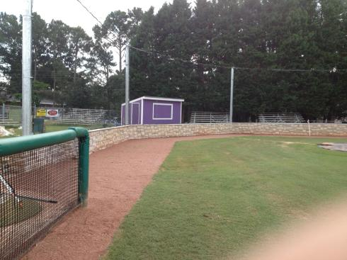 Backstop Photo with Warning Track 9-18-14